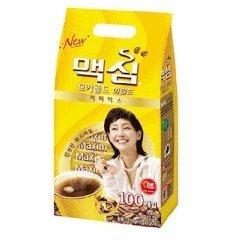 South Korea Maxim Mocha Gold coffee mix (12gX100) 2 pieces Korean food Korea food Korea tea honey tea tea Korea coffee instant coffee delicious coffee by Maxim