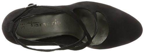 Tamaris Women's 24407 Closed Toe Sandals Black yQFbCJGUp