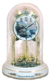 Thomas Kinkade Artist Lighthouse Beacon of Hope Mantle Clock New Gift