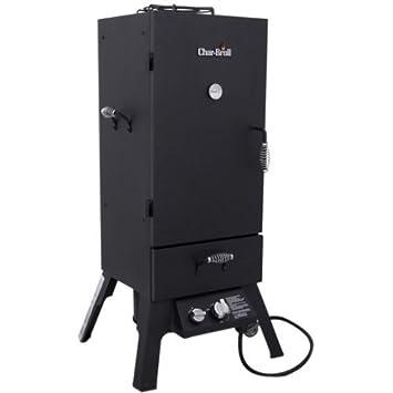 Char-broil 12701705-di Vertical Lp Gas Bbq Smoker Oven, 45