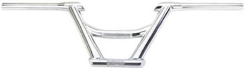 "Lowrlder Bicycie Chrome V handiebar 13/"" 25.4 mm Chopper Cruiser handie Bar 169202"