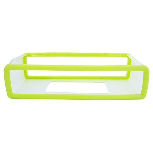 QUMOX Llevar a la cubierta de silicona caso de la bolsa para BOSE SoundLink Mini Altavoz Bluetooth, Negro verde
