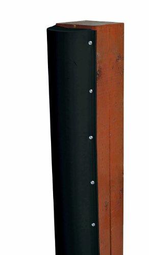 Dock Edge + Inc. PVC Piling Bumper (Black, 6-Feet)