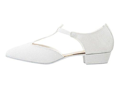 Black 4 White Shoes Sandal Or Teaching Katz Jive UK White Size Greek Salsa Pink Dance Dancewear Glitter 5 Ladies Cerco By dTgqwd