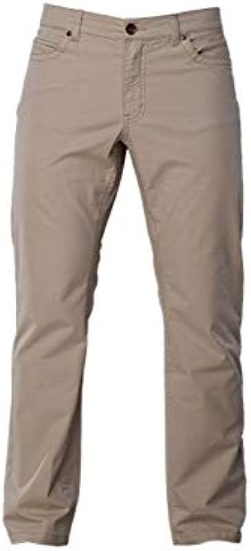 COLAC jeansy męskie Tim w kolorze jasnobeżowym Straight Fit ze stretchem: Odzież