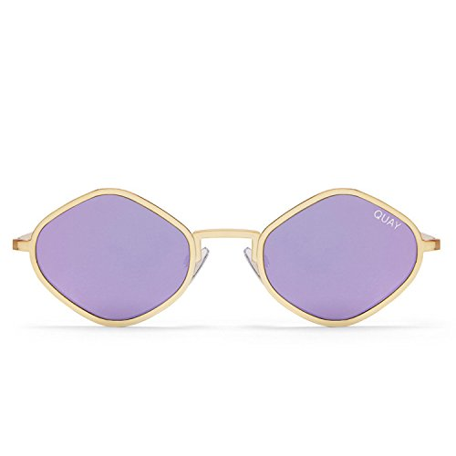 Quay Australia PURPLE HONEY Women's Sunglasses Exotic Sunnies - - Go Gold Be Purple