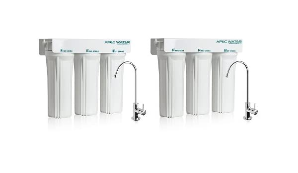APEC WFS-1000 Super Capacity Premium Quality 3 Stage Under-Sink Water Filter System APEC Water Systems