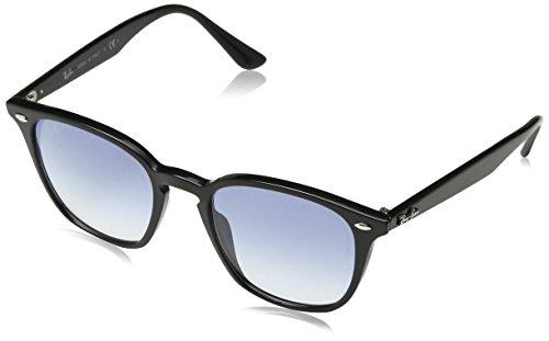 Ray-Ban Plastic Unisex Square Sunglasses, Black, 50 - Rb4259