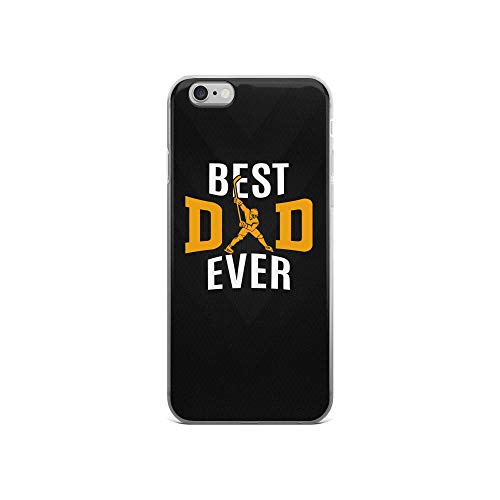 iPhone 6/6s Pure Clear Case Cases Cover Best Hockey Dad Ever TPU Protective Compatible Cover