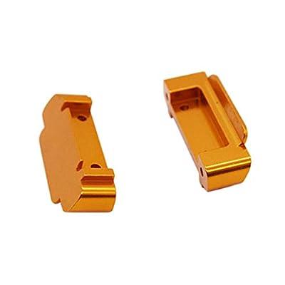 EAPTS 2Pcs Upgrade Spare RC Car Bumper RC Car Front Rear Bumper for 1/18 Wltoys A959-B A969-B A979-B RC Car Car Accessories RC Parts Kit: Toys & Games
