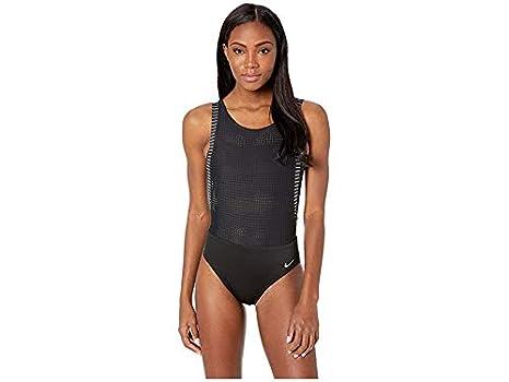 de31ede86 Amazon.com: Nike Women's Sport Mesh Convertible Layered One-Piece ...