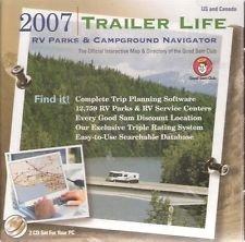 2007 Trailer Life Rv Parks & Campground Navigator Cd-rom! Good Sams (Rv Travel Software)