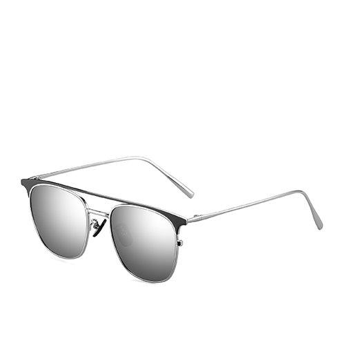 de de de polarizadas Gafas hombres gafas gafas de viaje de de TL sol la los de C4 sol Bastidor aviador pesca sol metal de para Silver guía Mirror Sunglasses C1 sol oro gafas espejo La azul de wq1znPTH