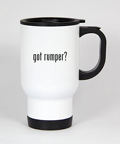got rumper? - 14oz White Travel Mug