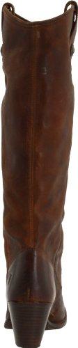 Frye Womens Bouton Jackie Cognac Boot Pressé Nubuck-76575