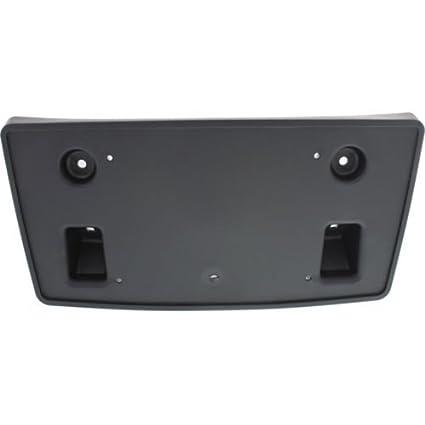 Chome Bumper Type GM1068157 Make Auto Parts Manufacturing SILVERADO 2500//3500 15-15 FRONT LICENSE PLATE BRACKET