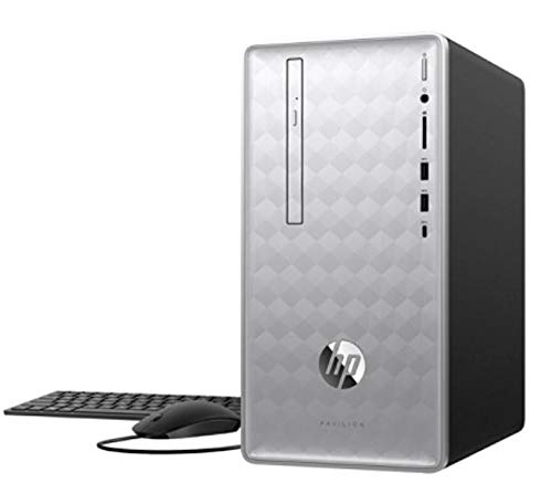 HP Pavilion 590-p0086 Desktop PC, 8th Gen Intel Core i7+, 8GB Memory/ 16GB Intel Optane Memory, 1TB Hard Drive, Windows 10 Home