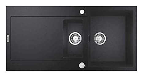 Import Allemagne GROHE K700 Evier Composite Noir granite 31652AP0
