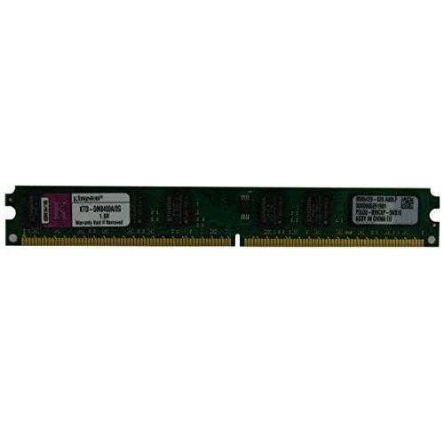 Kingston KTD-DM8400A/2G PC2-6400 (DDR2-800) 2 GB 240 Pin DDR2 SDRAM 1.8V Non-ECC 7.5ns CL4 Desktop Ram memory