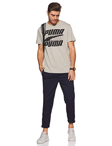 Homme Basic Rebel Calcaire Puma Shirt Tee T g6Angwpqa