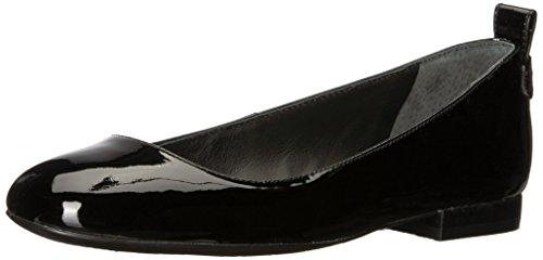 Lauren Ralph Lauren Women's Glenna Sneaker, Black, 7.5 B US (Womens Leather Ralph Lauren)