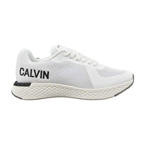 Calvin Klein – Zapatos de mujer Art R7809 White Color Foto Medida a elegir