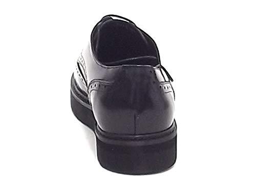 Noir Barachini À De Pour Lacets Chaussures Ville Luciano Homme 87qvCq