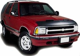 Lebra Hood Protector for 1994 - 2003 Chevy S10 Pick Up ()
