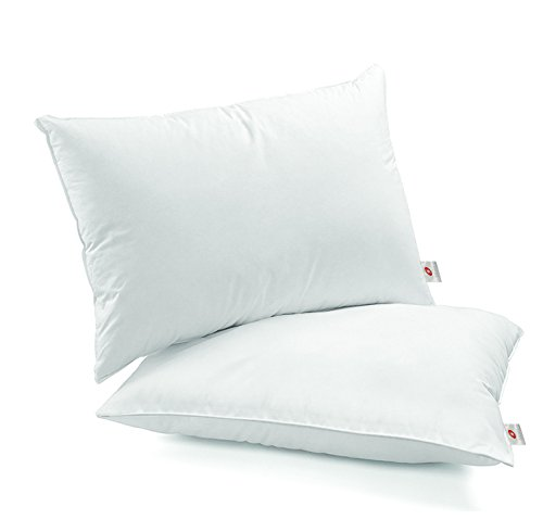 Swiss Comforts Hotel Collection Cool Gel Pillow 100% Soft Cotton Luxury Down Alternative Sleeping Bed Pillow Dust Mite Resistant & Hypoallergenic Standard 20