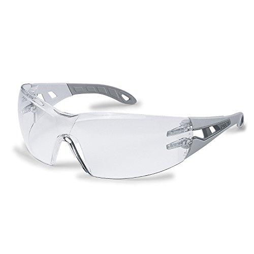 Uvex Schutzbrille pheos farblos, 100% UV-Schutz, gemäß EN 166 + EN 170