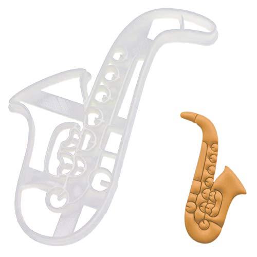 Saxophone cookie cutter, 1 piece - Bakerlogy ()