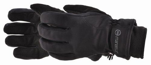 Windstopper Womans (Manzella Women's Adventure 100 Glove (Black, Large))