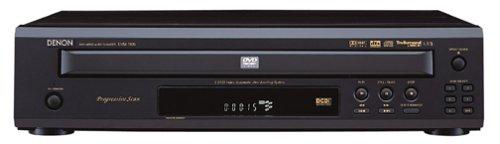 Denon Cd Recorder - Denon DVM-1805 5-Disc Progressive-Scan DVD Player, Black