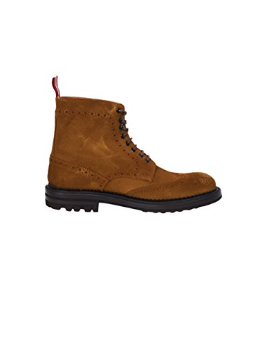 GREEN GEORGE Herren Boots Aus Veloursleder in Braun light 244