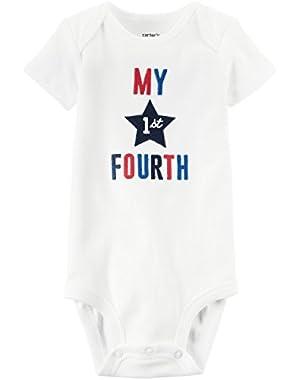 Baby My 1st Fourth Bodysuit