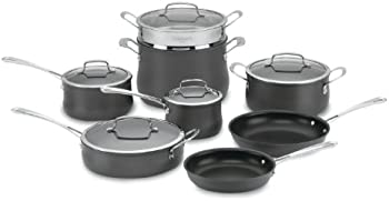 Cuisinart 13-Piece Contour Non-Stick Hard Anodized Cookware Set