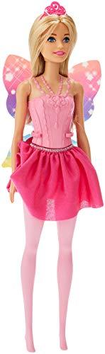 (Barbie Dreamtopia Fairy Winged Doll - Blonde Hair, Pink Dress)