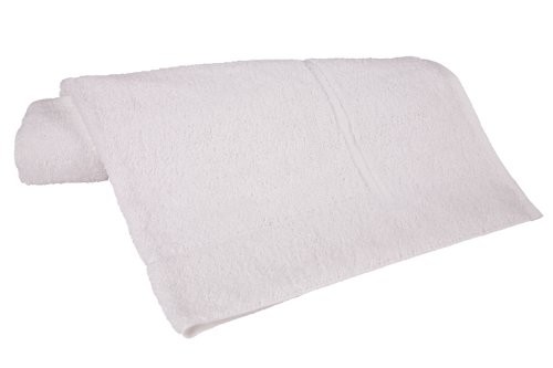 Riegel Royal 100-Percent Cotton Bath Mat, 20 by 34-Inch, White, 6-Pack