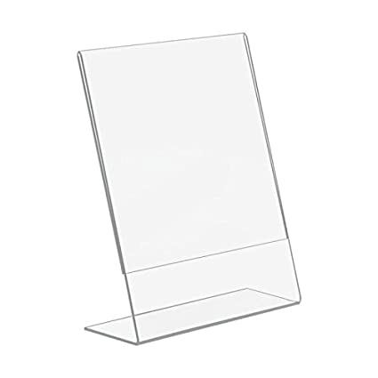 Amazoncom 12 Pack Of 4x6 Acrylic Picture Frames Sign Holders