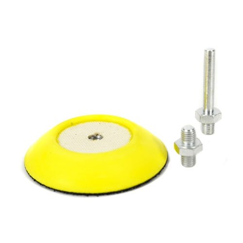 Chemical Guys BUFLC_BP_D2 Flex Pro Professional Backing Plate with Drill and Dual-Action Adapters (3 Inch)