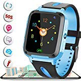 Smart Watch for Kids GPS Tracker Best Phone Watch Birthday Toys G ifts for Boys Girls 3-14 Years With Camera SOS Parents Remote App for iPhone Android Smartphone for Children Electronic Learning Toys