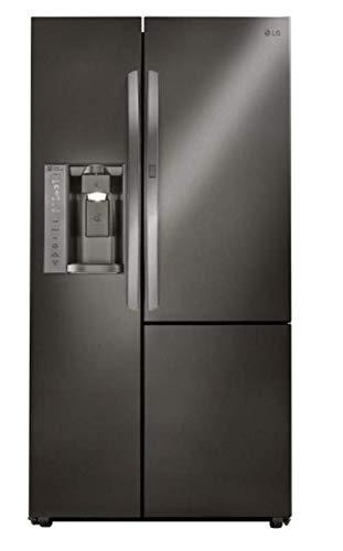 LG LSXS26386D 26.0 Cu. Ft. Black Stainless Steel Side Refrigerator-Energy -
