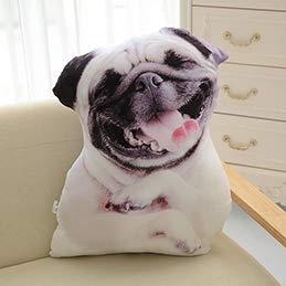 YOUHA Perro Sentado Sentado En Forma de Almohada de Felpa ...