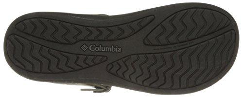 Columbia Womens Caprizee Leather Slide Caprizee Leather Slide City Grey/Black esMowOEBxp