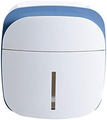 壁に取り付けられた浴室のティッシュボックス、トイレットペーパーのホールダーの電話棚の引出しが付いている防水ティッシュボックス、多機能の棚の携帯用ペーパーホルダー