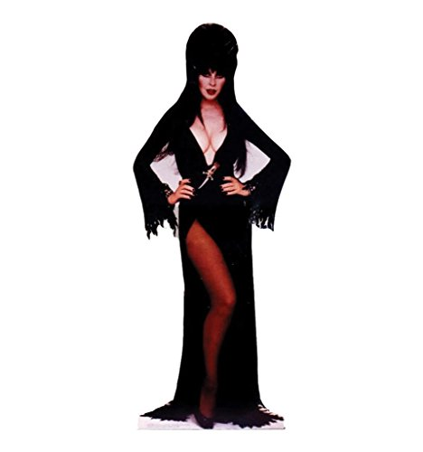 Custom Made Elvira Costume (Elvira - Advanced Graphics Life Size Cardboard Standup)