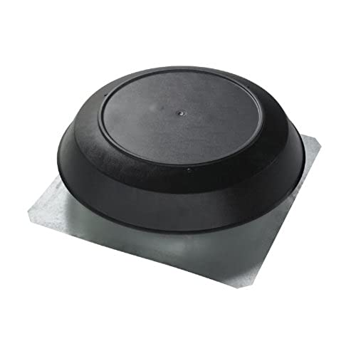Broan 355BK Roof Mount 120-Volt Powered Attic Ventilator 1200 CFM Black Dome  sc 1 st  Amazon.com & Roof Vents for Houses: Amazon.com