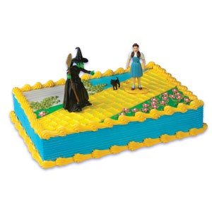 Amazon Com Bakery Crafts Wizard Of Oz Characters Cake Kit