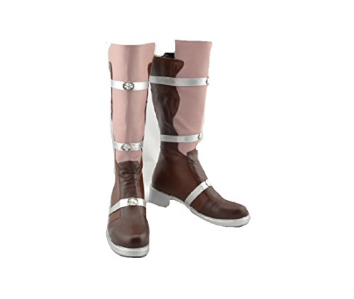 Final Fantasy 13 Lightning cosplay costume Boots Boot Sho...