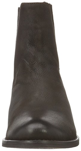 Damen Boots Vmjeanet Brown VERO Braun Seal Biker Leather MODA w5qxCT6